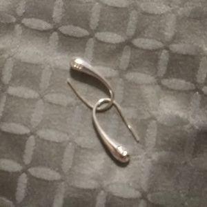 925 Sterling Silver Tear Drop Earrings